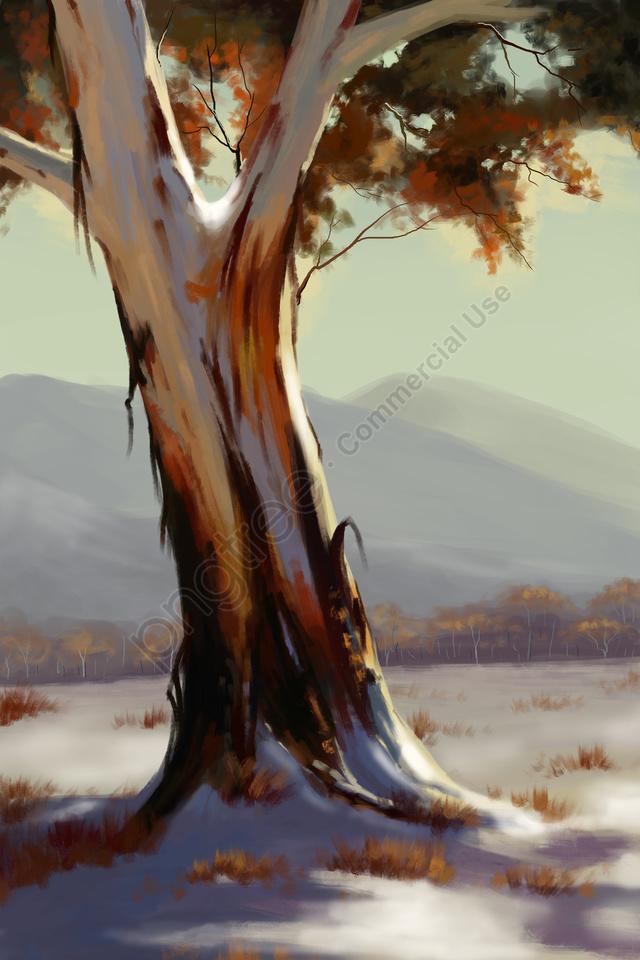 冬冬至太陽条件雪, 雪の後, 雪景色, 冬 llustration image