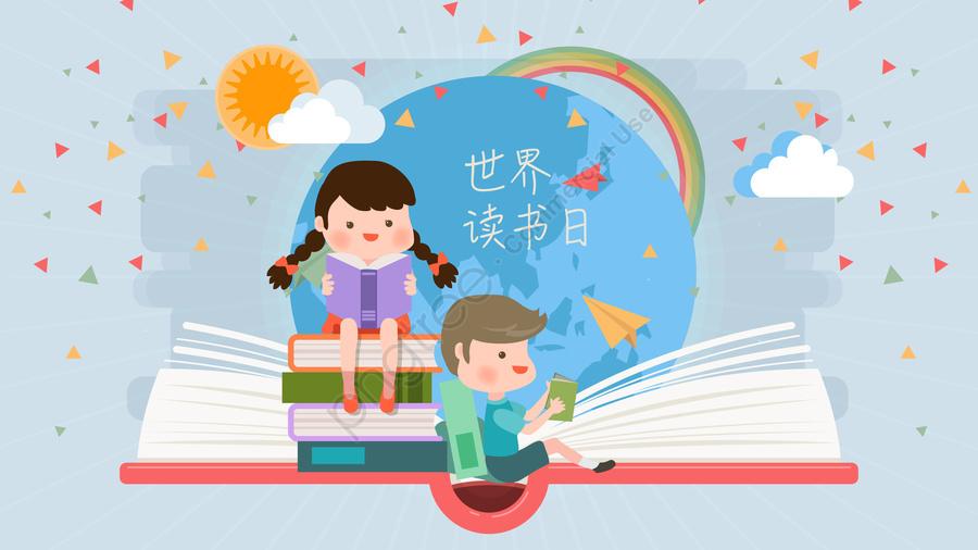 world book day 4 23 reading day reading, Mùa Xuân, Du Lịch, Cây Cầu Gỗ llustration image