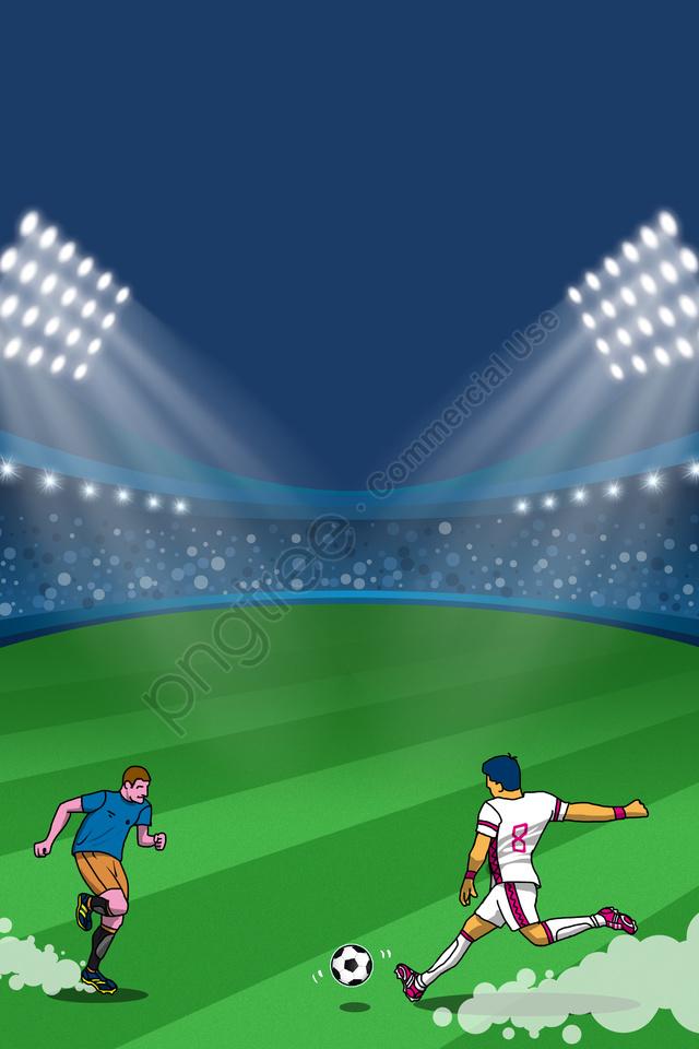 ワールドカップグリーン2018サッカー, Fifa, 世界, カップ llustration image