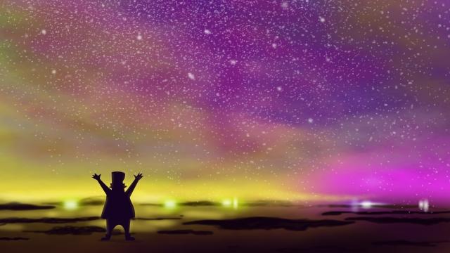 璀璨 starry sky background image dazzling llustration image