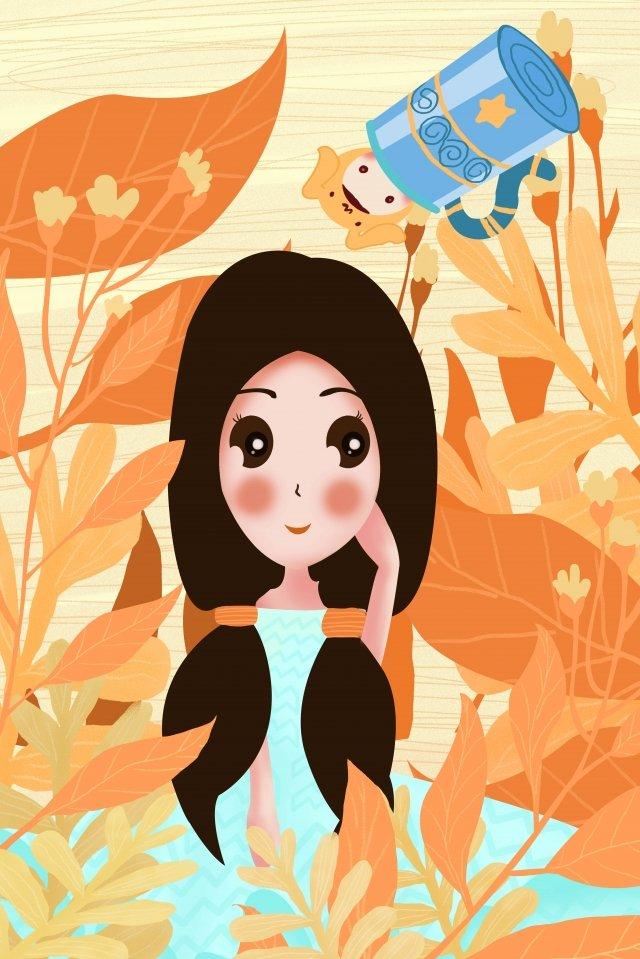12 constellations constellation aquarius girl llustration image