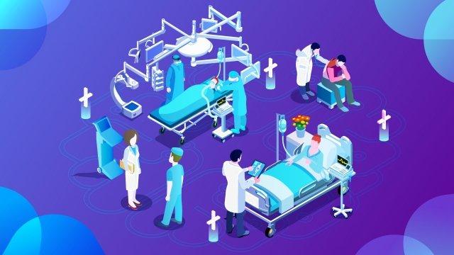 2 5d 건강 의학 의사 삽화 소재