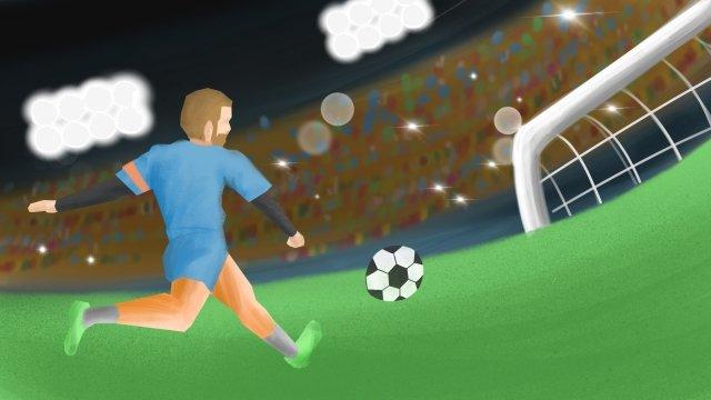 2018 fifaワールドカップサッカー イラスト素材 イラスト画像