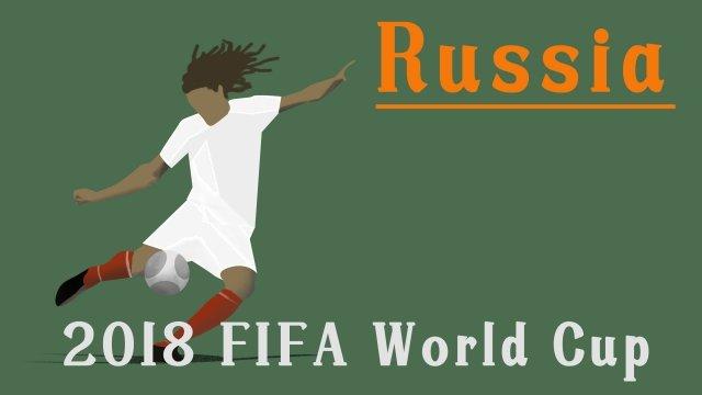 2018 football match world cup football game, Kick The Ball, World Cup Football, Russia World Cup illustration image