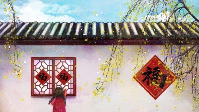 2019年新春祭り墨 イラストレーション画像 イラスト画像