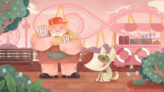61 childrens day cartoon dia das crianças infantil Material de ilustração