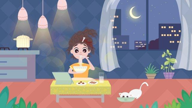 a person life city girl llustration image illustration image