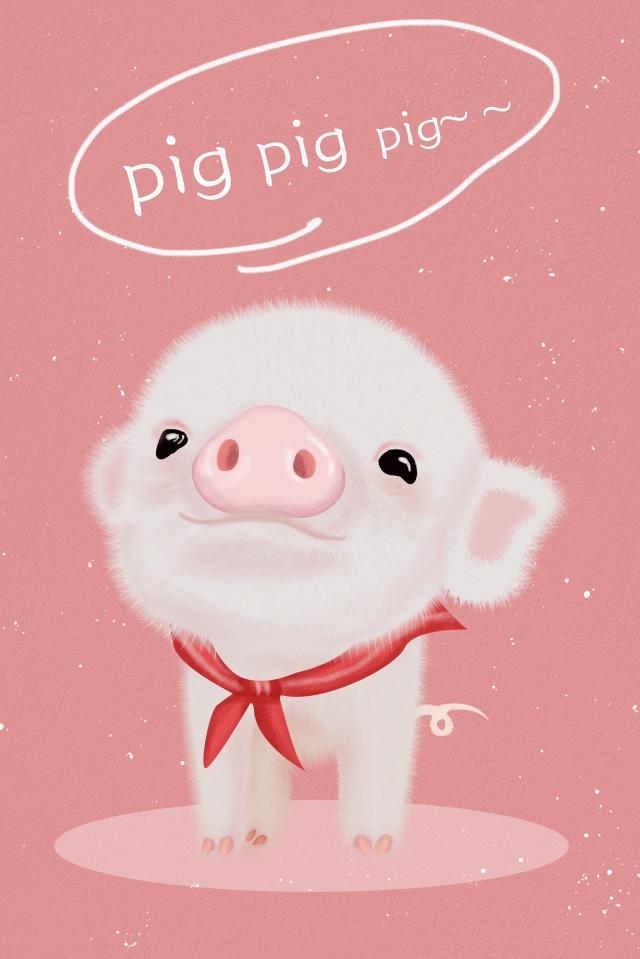 animal lindo porquinho de pelúcia Material de ilustração