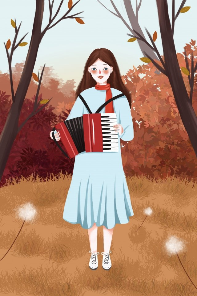 autumn whispers fall autumn autumn day llustration image
