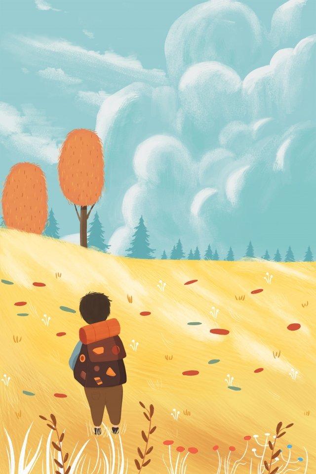 秋の秋収穫農家収穫祭 イラスト素材