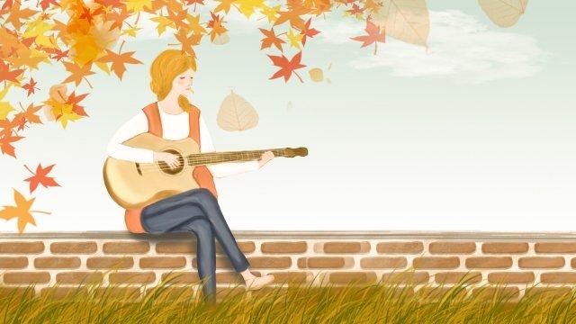 mùa thu bắt đầu mùa thu lá vàng Hình minh họa Hình minh họa
