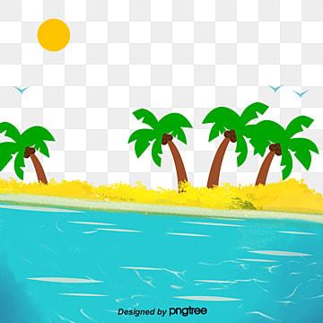 красивый океан целебного побережья Ресурсы иллюстрации