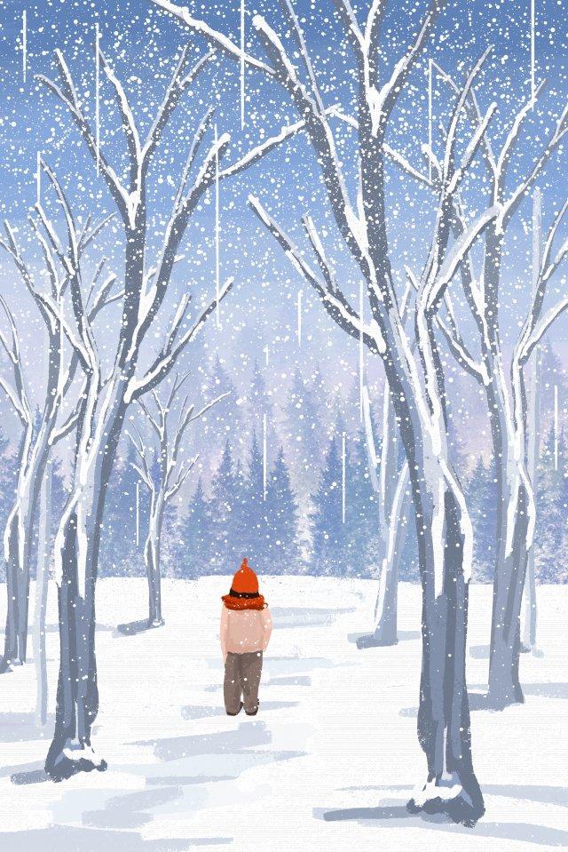 cảnh mùa đông tuyết đẹp Hình minh họa