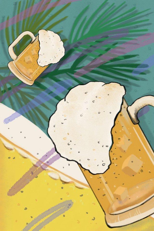 beer beer mug bubble liqueur illustration image