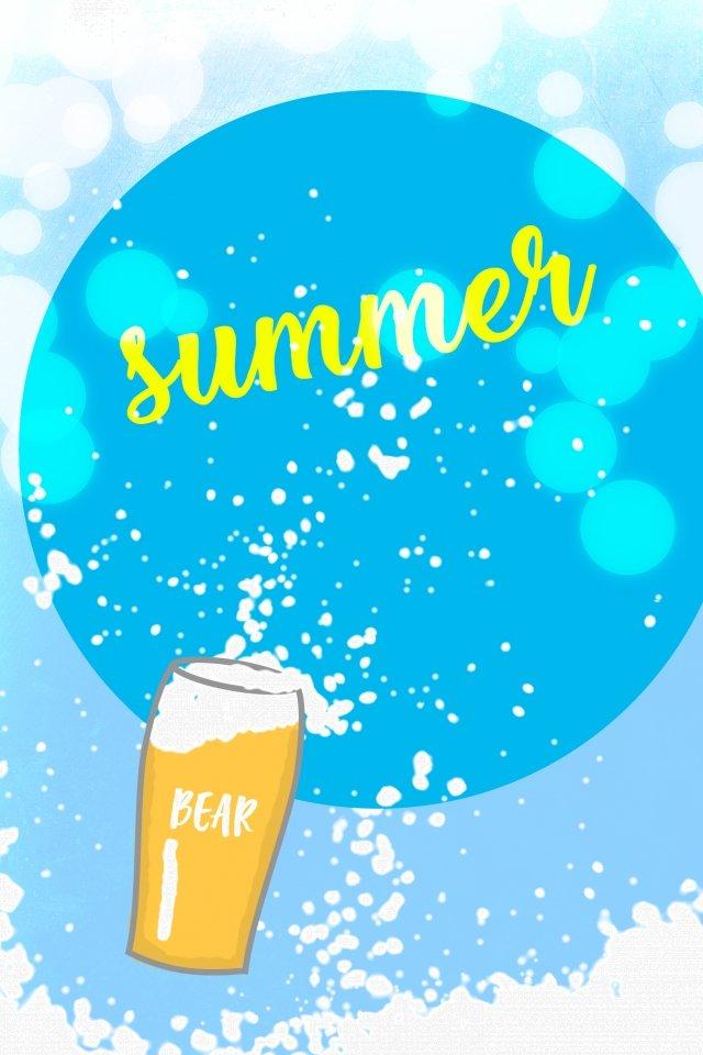 ビールリキュールビール泡ビール祭り イラストレーション画像 イラスト画像