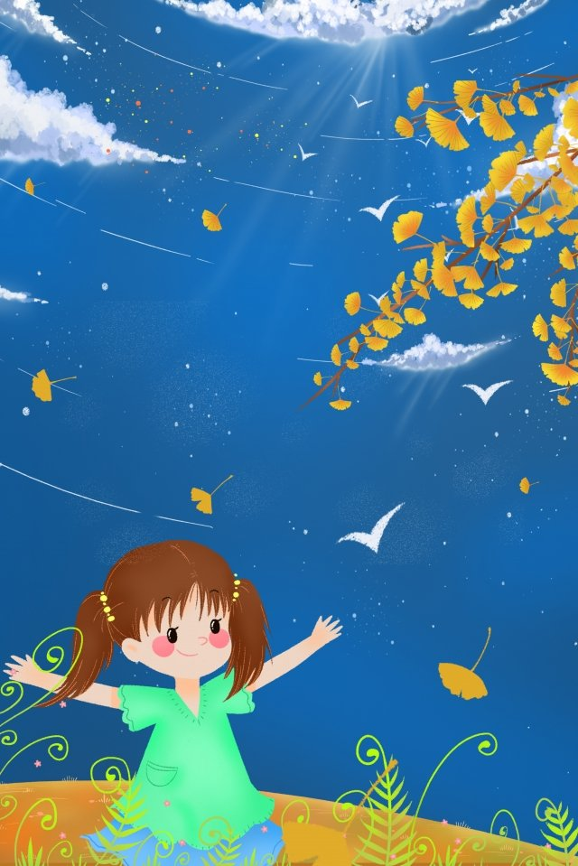 beginning of autumn fall autumn autumn day llustration image illustration image