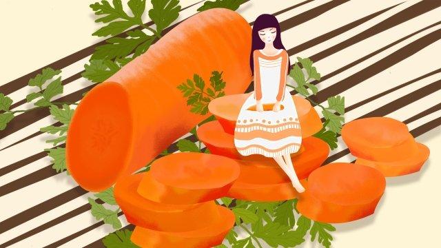 Liqiu Illustrator của Liqiu Fruit and Rau Series Li Qiu Mùa thu ThuậtBé  Đẹp  Nhà PNG Và PSD illustration image