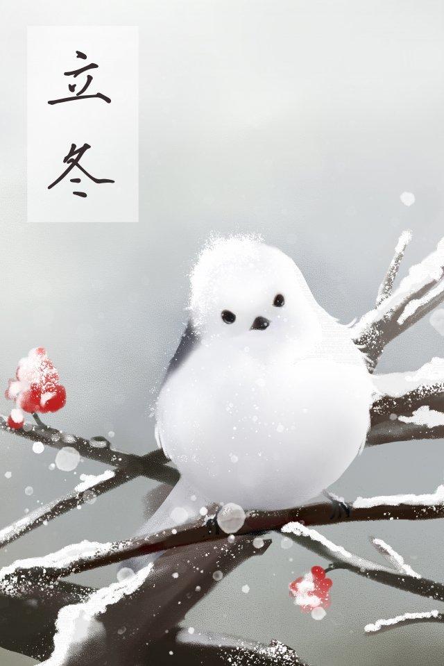 冬の脂肪の始まり初冬の冬 イラスト素材