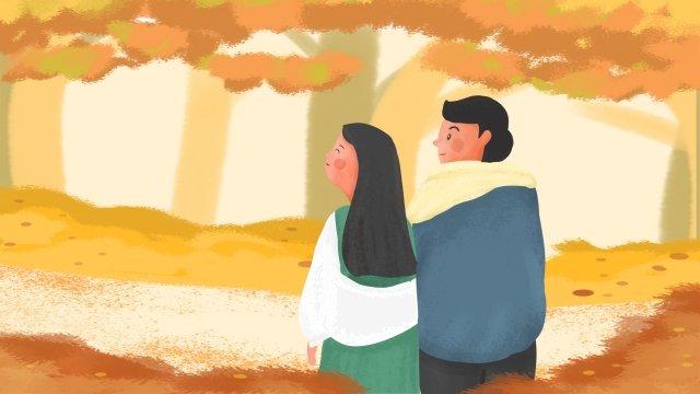 男孩女孩夫婦tanabata 插畫素材 插畫圖片