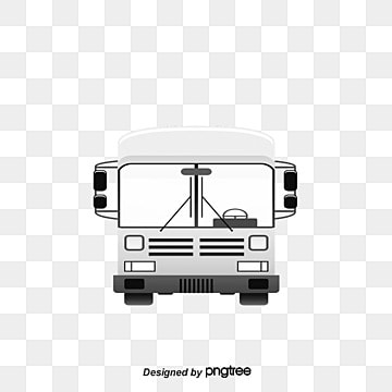 bus city travel driver illustration image