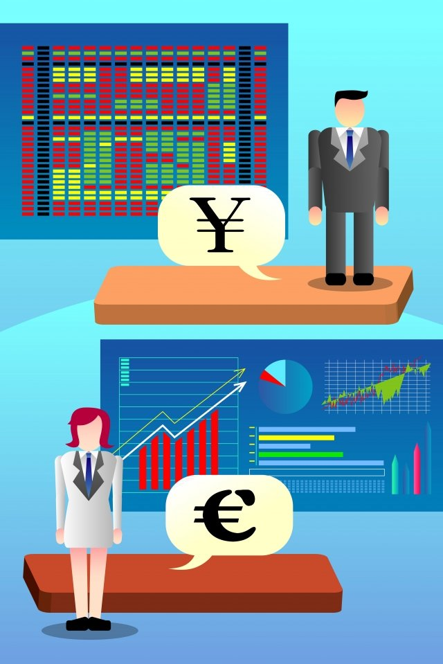 business financial stock investment, Currency, Gold, Rising Arrow illustration image
