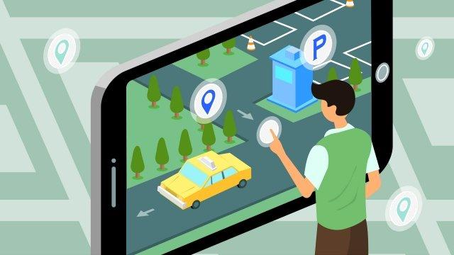 business intelligent technology mobile phone llustration image illustration image