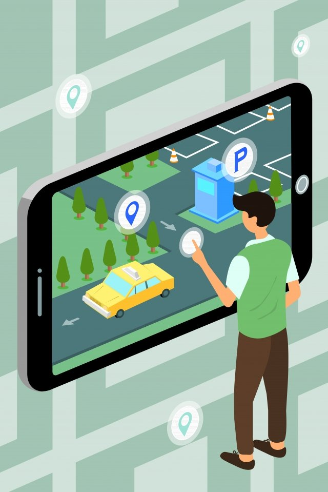 व्यापार बुद्धिमान प्रौद्योगिकी मोबाइल फोन चित्रण छवि चित्रण छवि