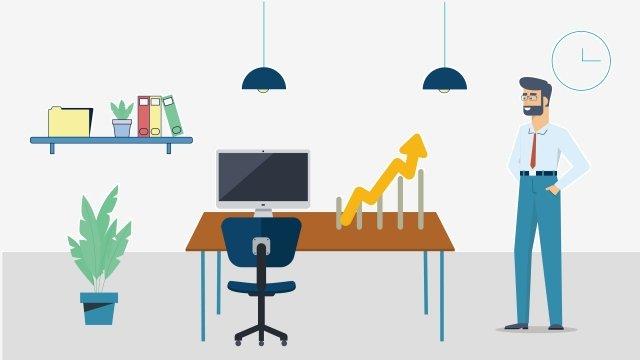 ビジネス求人arrowプロモーション イラスト素材 イラスト画像