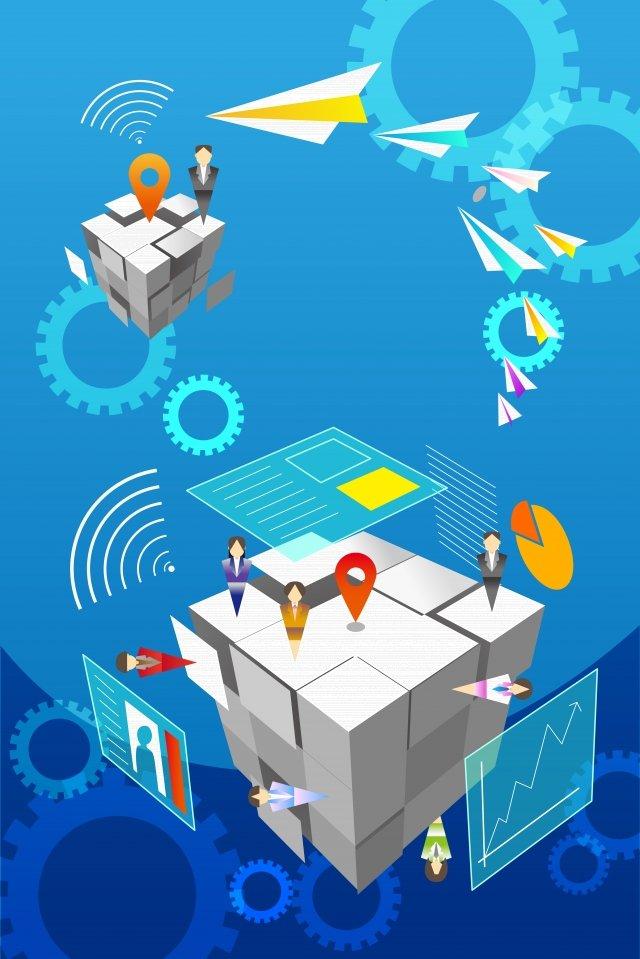 ビジネスオフィスの背景素材 イラスト素材 イラスト画像