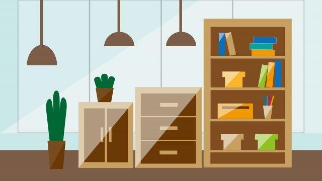 business office business office office, Illustration, Simple, Table illustration image