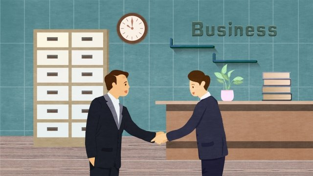 business office cooperation negotiate llustration image illustration image