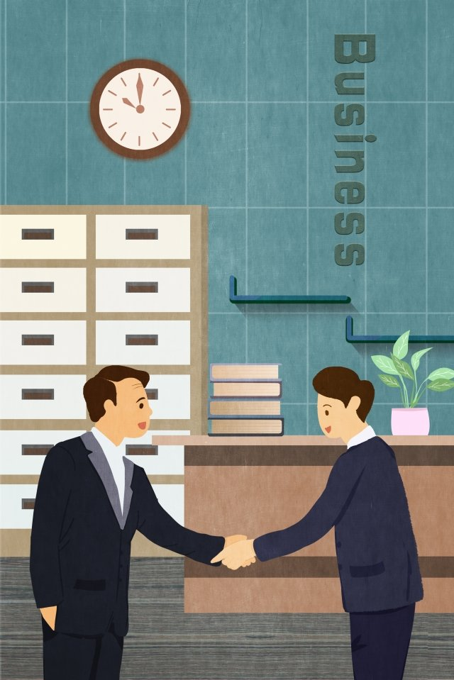 business office cooperation negotiate, Business, Office, Cooperation illustration image