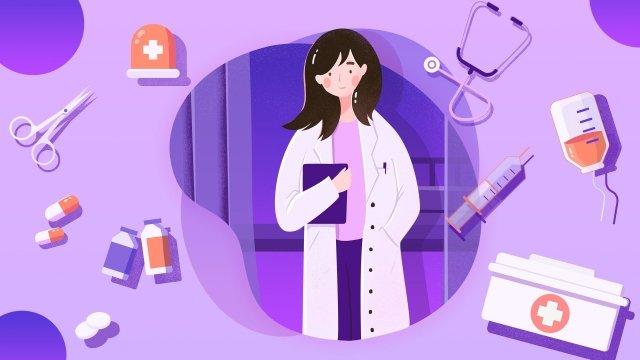 kariera w branży medycznej obraz llustration