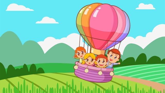 phim hoạt hình sáu một ngày hội thiếu nhi Hình minh họa Hình minh họa