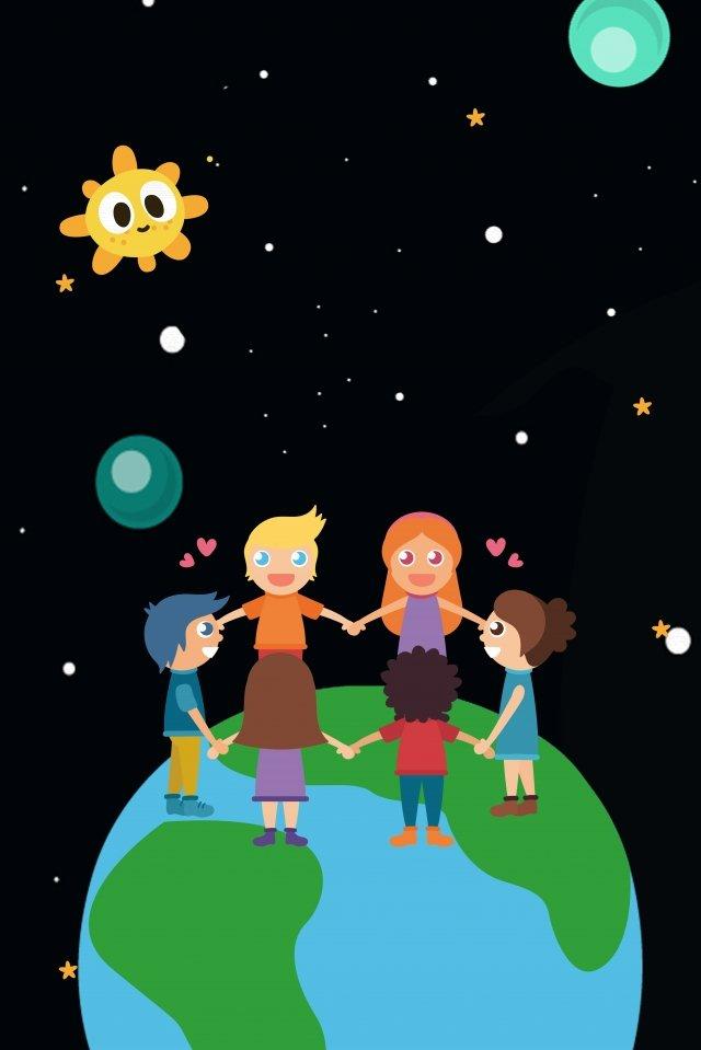 地球上の漫画こどもの日 漫画 シックスワン こどもの日 祭り こども こども 少女 少年 遊ぶ しあわせ イラスト 喜び しあわせ 宇宙 地球 太陽 団結 遊ぶ しあわせ地球上の漫画こどもの日  漫画  シックスワン PNGおよびPSD イラスト画像