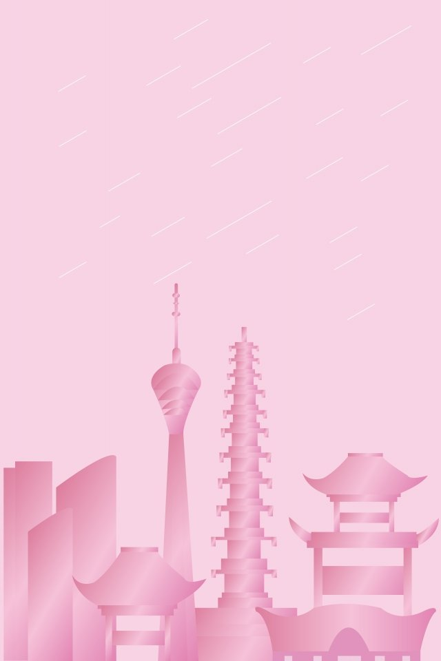 chengdu city landmark building, Illustration, Tv Tower, Sichuan illustration image
