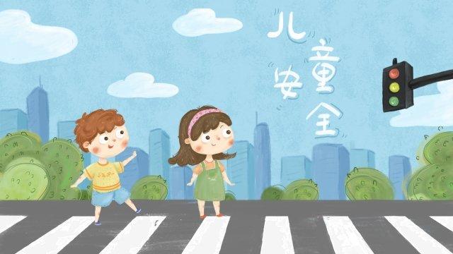 こども交通安全市 イラスト素材 イラスト画像