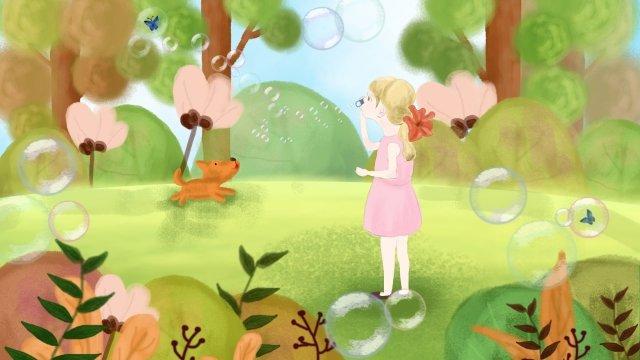 子供の日美しいカラフルな家 イラスト素材