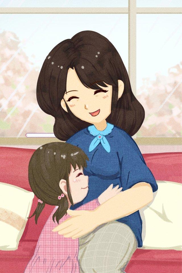 추수 감사절 포스터 사랑 추수 감사절 포스터 배경 일러스트 레이션 포스터 어린이 일러스트 레이션 포스터 삽화 소재