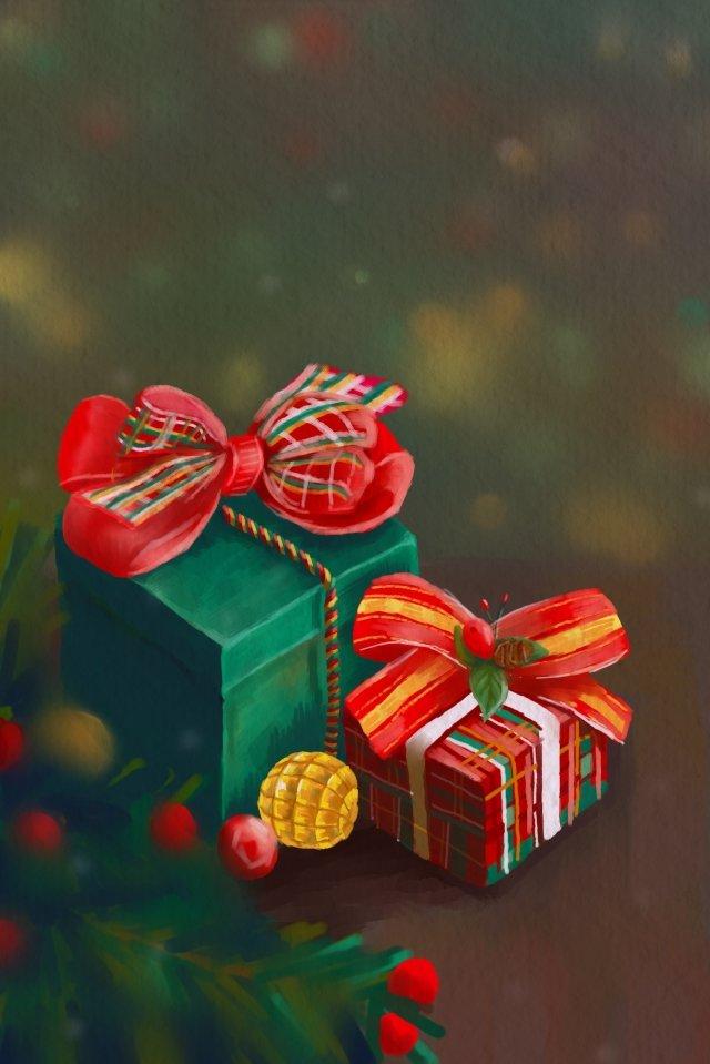 크리스마스 크리스마스 크리스마스 이브 선물 삽화 이미지