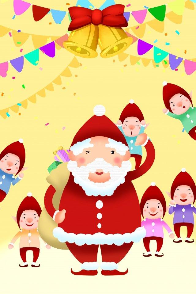 クリスマスサンタクロース イラスト素材 イラスト画像