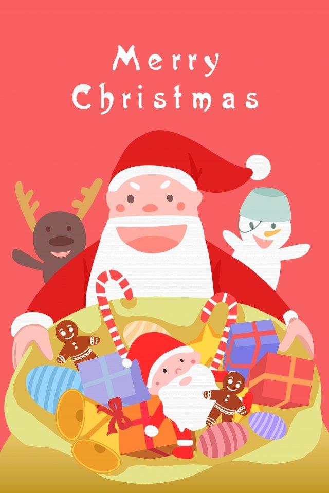 عيد الميلاد عيد الميلاد سانتا كلوز تزلف صورة llustration