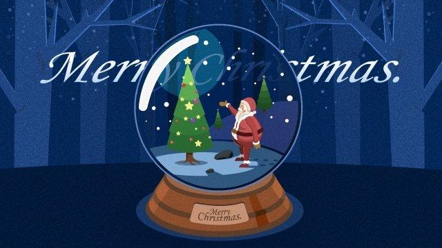 عيد الميلاد عيد الميلاد سانتا كلوز هدية مواد الصور المدرجة
