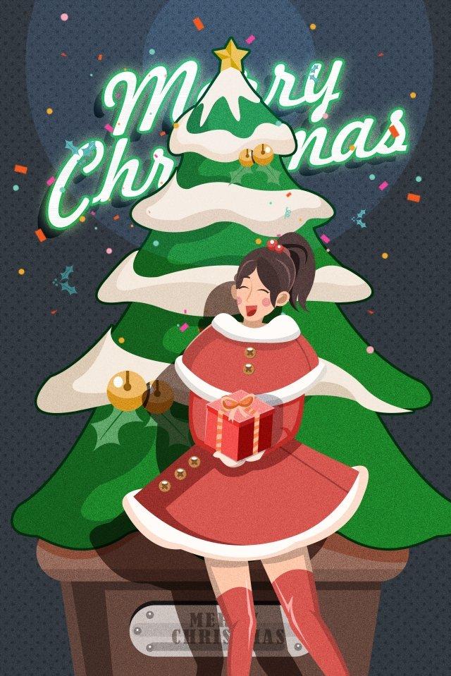 cây giáng sinh giáng sinh quà tặng giáng sinh Hình minh họa