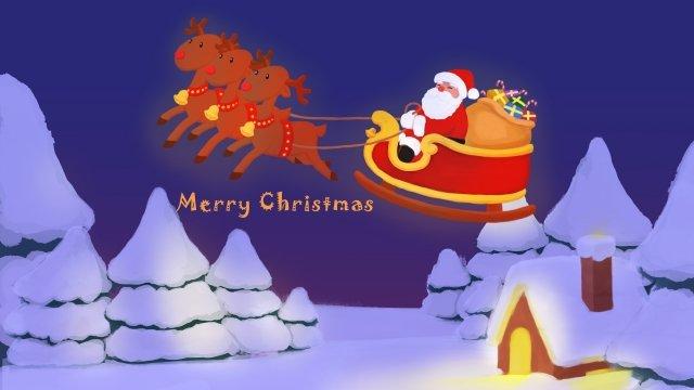 عيد الميلاد سانتا كلوز الأيائل الحارة مواد الصور المدرجة الصور المدرجة