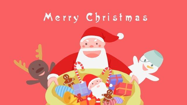 عيد الميلاد سانتا كلوز تزلف ثلج مواد الصور المدرجة