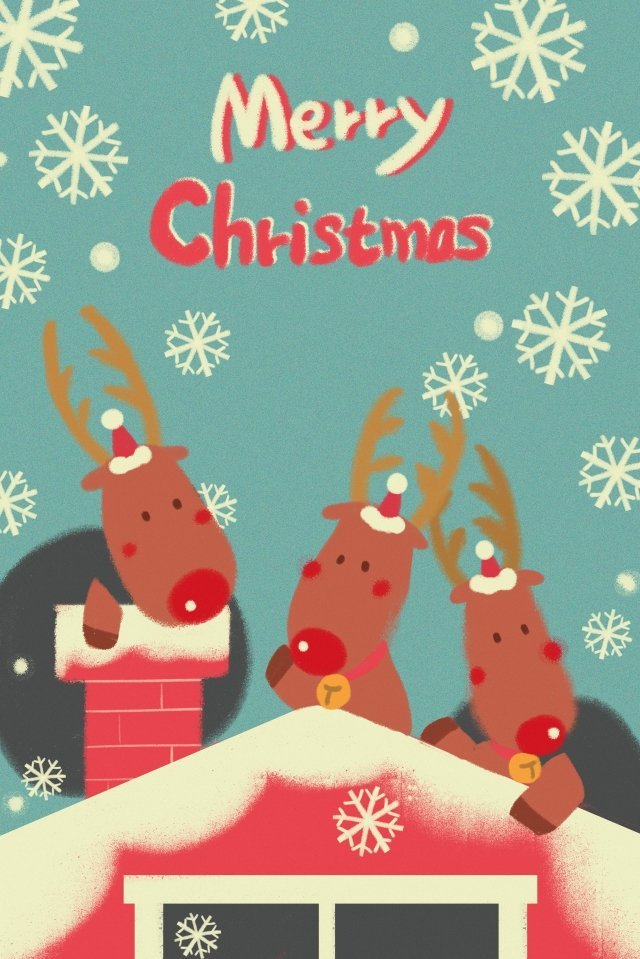 Giáng sinh nai sừng giáng sinh cây Giáng sinh minh họa Giáng sinh Mùa đông Minhđông  Minh  Kỷ PNG Và PSD illustration image
