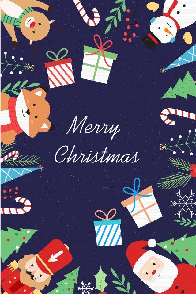 عيد الميلاد الشتاء الشتاء التوضيح مواد الصور المدرجة