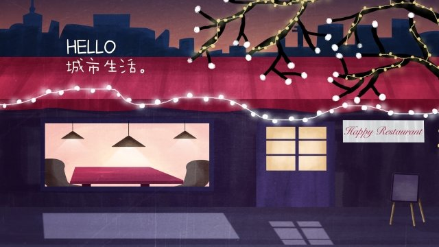 city girl street light street llustration image illustration image