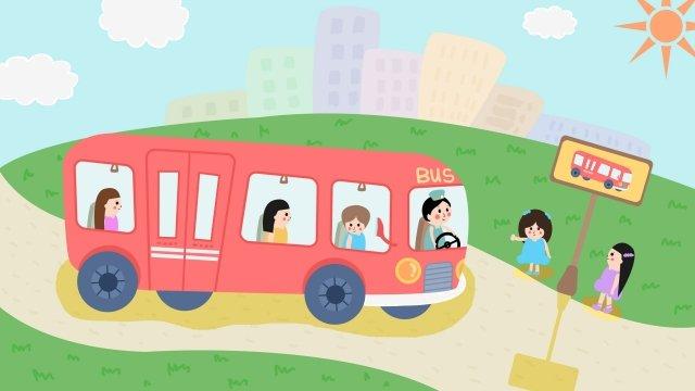 シティライフバスステーション イラストレーション画像